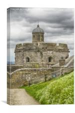 St. Mawes Fortress, Canvas Print