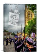 Modern Day Suffrage, Canvas Print
