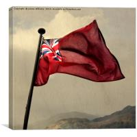 The Red Ensign, Canvas Print