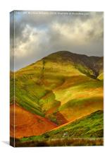 Whiteless Pike, Cumbria, Canvas Print