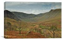 Riggendale, Cumbria, Canvas Print
