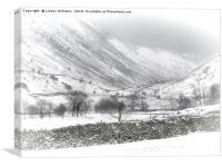 Kirkstone Pass, Cumbria, Canvas Print