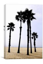 Santa Monica Beach, Canvas Print