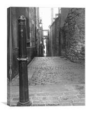Edinburgh Alley, Canvas Print