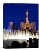 Bellagio Fountains - Vegas, Canvas Print