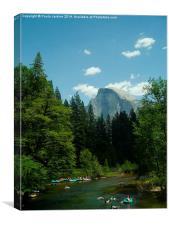 Half Dome at Yosemite National Park, Canvas Print