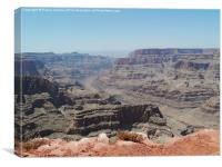Colorado River at the Grand Canyon, Canvas Print