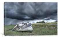 Approaching Storm., Canvas Print
