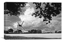 Mountnessing Windmill, Essex, Canvas Print