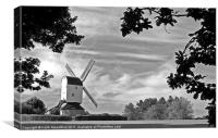 Mountnessing Windmill, Canvas Print