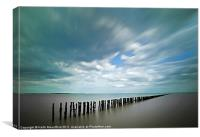 The Breakwater, Canvas Print