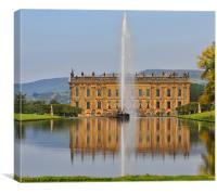 Chatsworth House, Canvas Print
