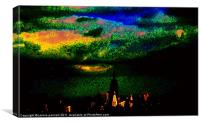 New York Skyline, Canvas Print