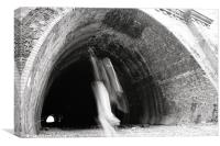 Ghost Tunnel, Canvas Print