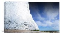 The Seven Sisters White Cliffs, Canvas Print