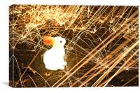 Follow The White Rabbit, Canvas Print