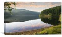 Derwent Dawn, Canvas Print