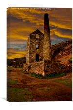 Towanroath Engine House, Canvas Print