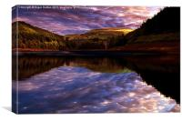 Howden Sun Rise, Canvas Print