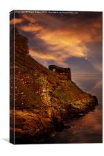 Castle Rampart, Canvas Print