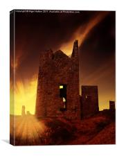 Tin Mine, Canvas Print