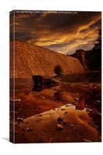 Derwent Overflow, Canvas Print