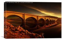 Ashopton Sun Rise, Canvas Print