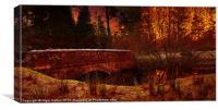 West End Bridge, Canvas Print