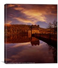 Howden Reflections, Canvas Print