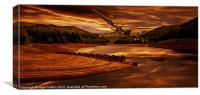 Out of Howden, Canvas Print