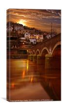 Looe Bridge, Canvas Print