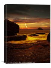 Looking out to Gull Rock, Canvas Print