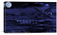 Squadron X, Canvas Print