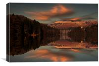 Howden Moor Reflections, Canvas Print