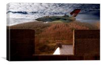 Tornado At Derwent Dam, Canvas Print