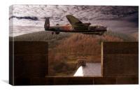 Avro Lancaster Mk1, Canvas Print