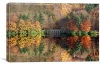 Autumn in Derwent, Canvas Print
