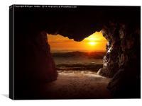 Cave, Canvas Print