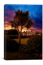 Palm Tree, Canvas Print