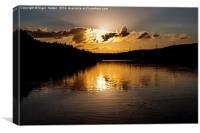Underbank Reservoir, Canvas Print