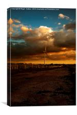 Turbine, Canvas Print