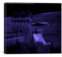 Lancaster Lights, Canvas Print