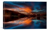 Howden Glow, Canvas Print