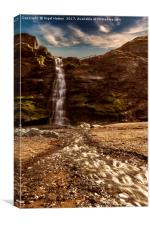 Tintagel Waterfall # 2, Canvas Print