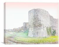Castle 3, Canvas Print