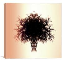 Tree of Twigs, Canvas Print
