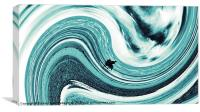 Riding the wave 2, Canvas Print