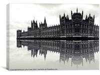Reflective Politics, Canvas Print