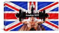 London 2012, Canvas Print