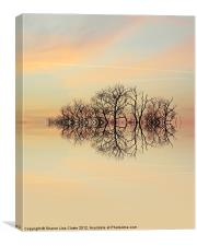 Angelic Branches, Canvas Print
